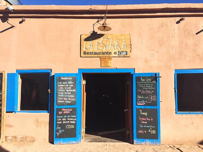 Restaurantes recomendados no Atacama