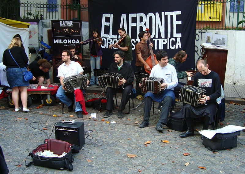 Feirinha de San Telmo, em Buenos Aires