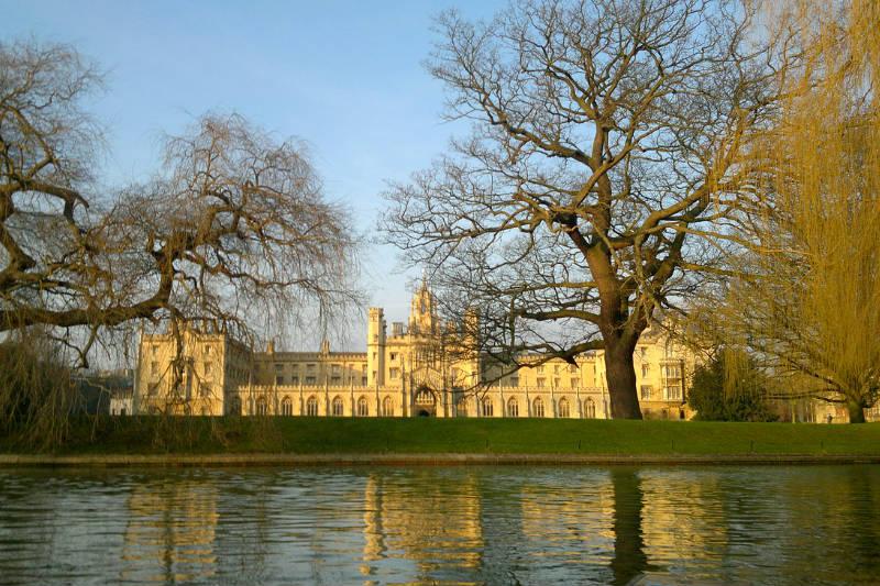 Roteiro em Cambridge na Inglaterra
