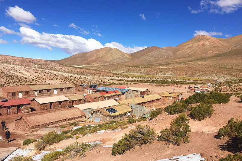 Vila Machuca, no Atacama