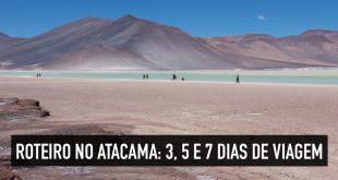 Roteiro no Atacama