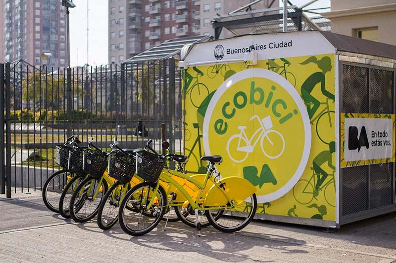 Bike de graça em Buenos Aires
