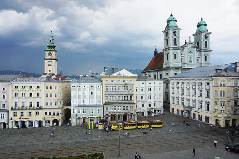 Como chegar em Linz de Viena