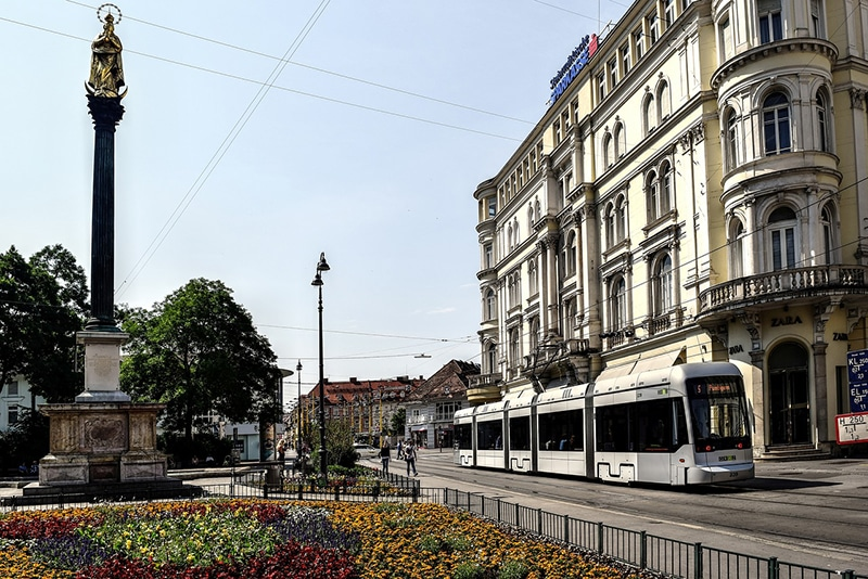 Cidades perto de Viena para visitar e ir de trem