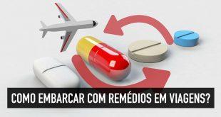 Remédios em viagens internacionais
