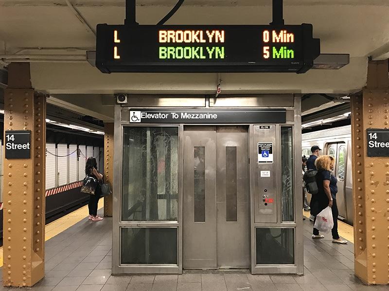 Como andar no metrô em Nova York