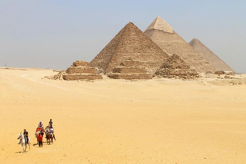 melhor epoca para visitar as piramides