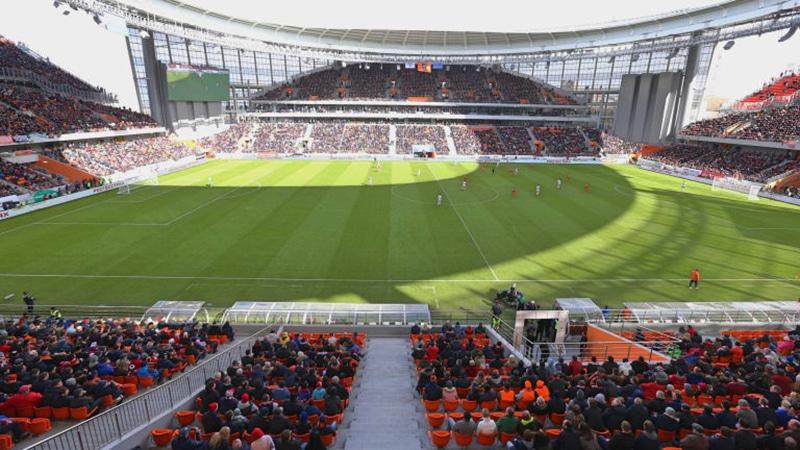 Estádio Central de Ekaterinburg fotos