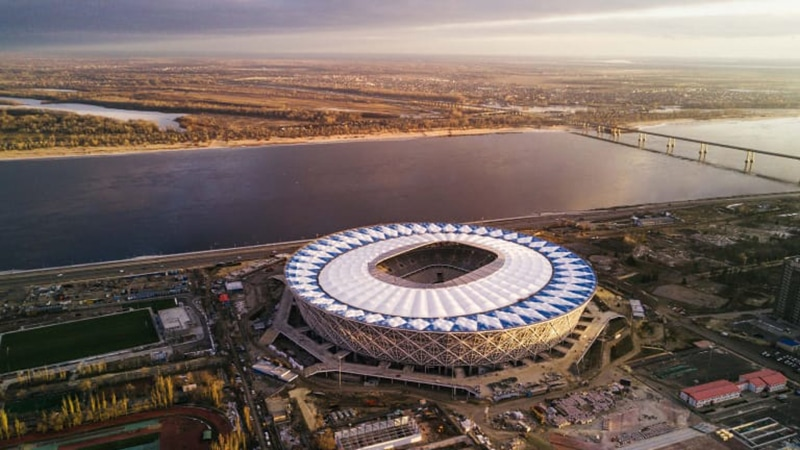 Estádio mais bonito da Rússia