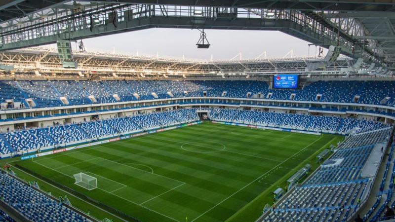 Estádio com menor capacidade da Rússia