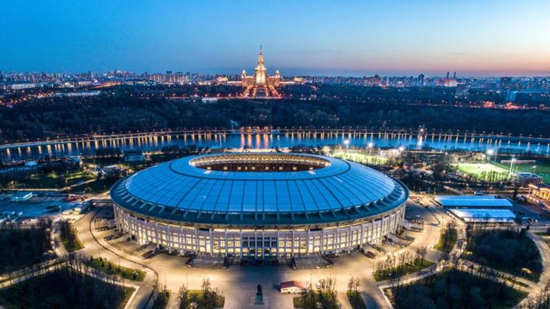 Estádio de Luzhniki fotos