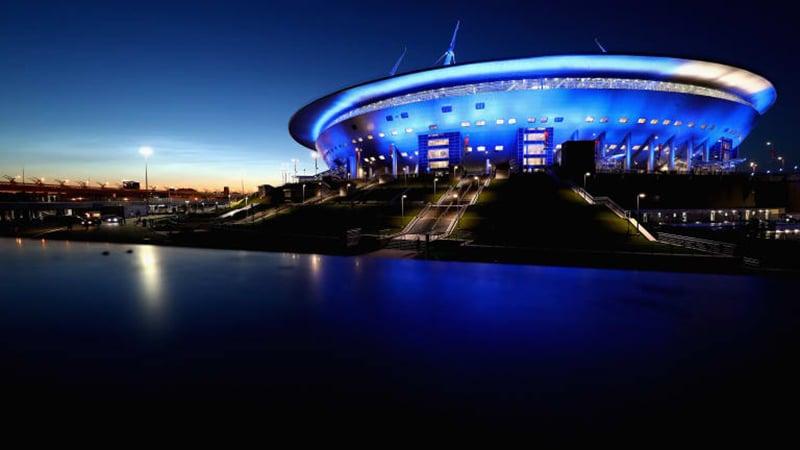 Estádio de São Petersburgo fotos