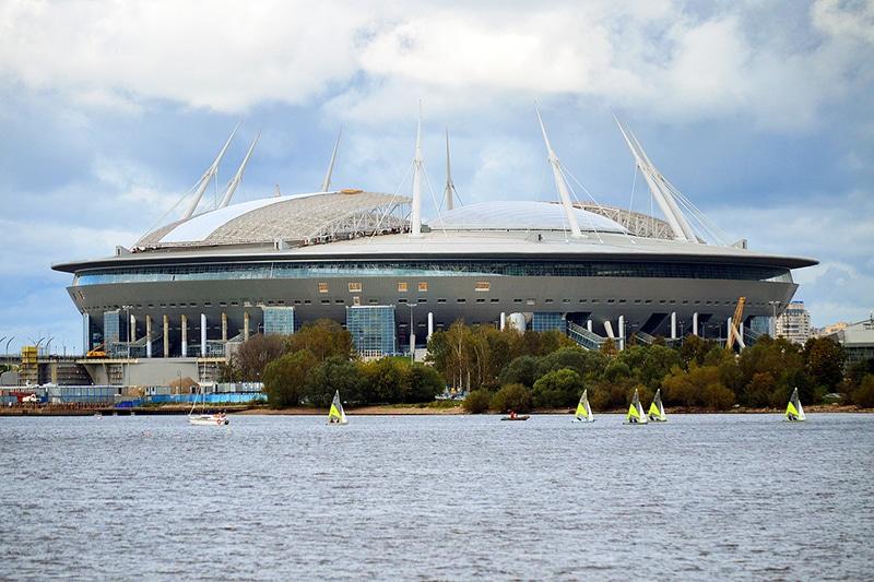 Estádios da Copa 2018 fotos