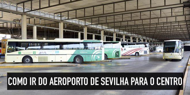 Ônibus para o aeroporto de Sevilha