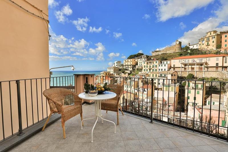 Hotel perto da estação Riomaggiore na Itália