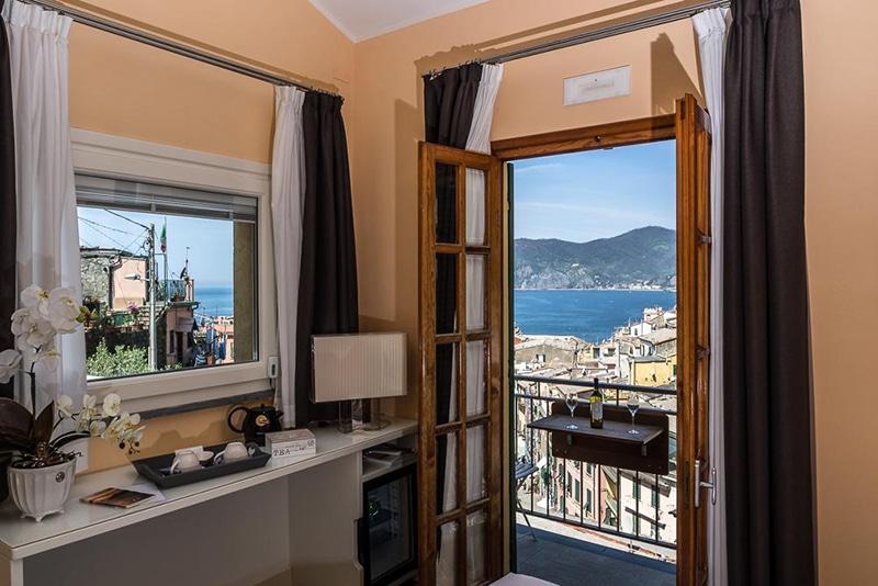 Hotel com vista para o Mar Mediterrâneo em Vernazza