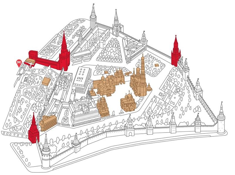 Atrativos da Praça Vermelha em Moscou
