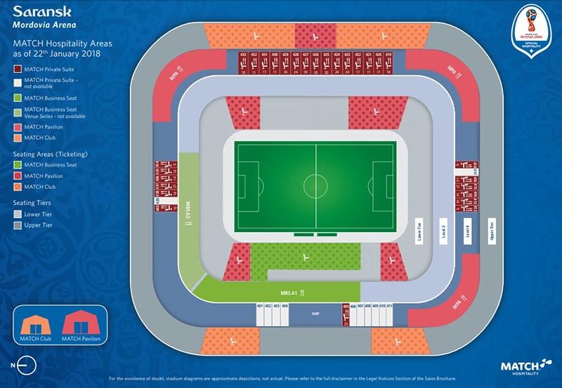 Localização do estádio Mardobia