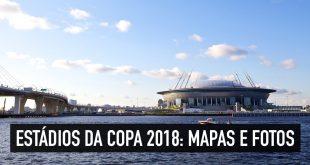 Estádios da Copa 2018