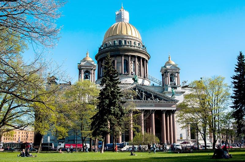 Locais mais bonitos de São Petersburgo