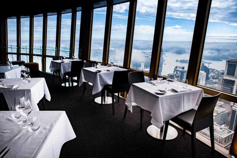 Restaurante na Sydney Tower