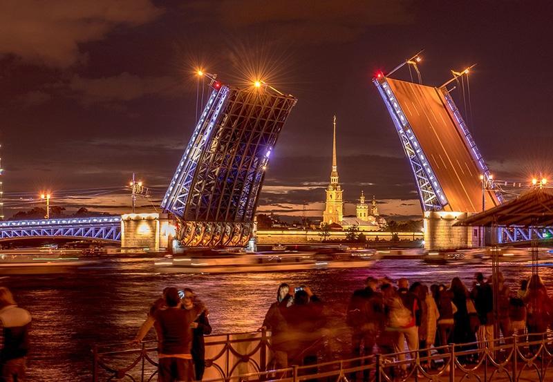 Mapa turístico de São Petersburgo