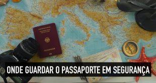Como guardar o passaporte