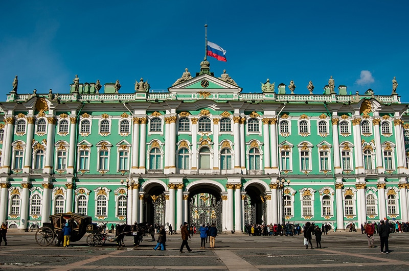 Roteiro de 1 dia em São Petersburgo