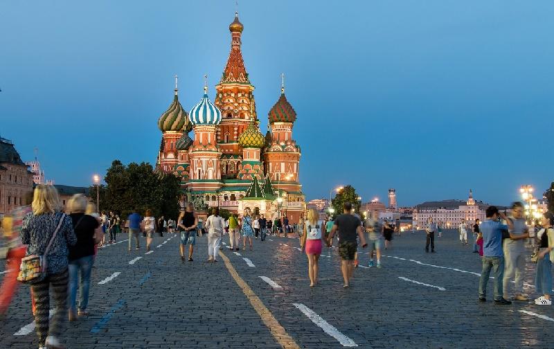 Pontos turísticos de Moscou
