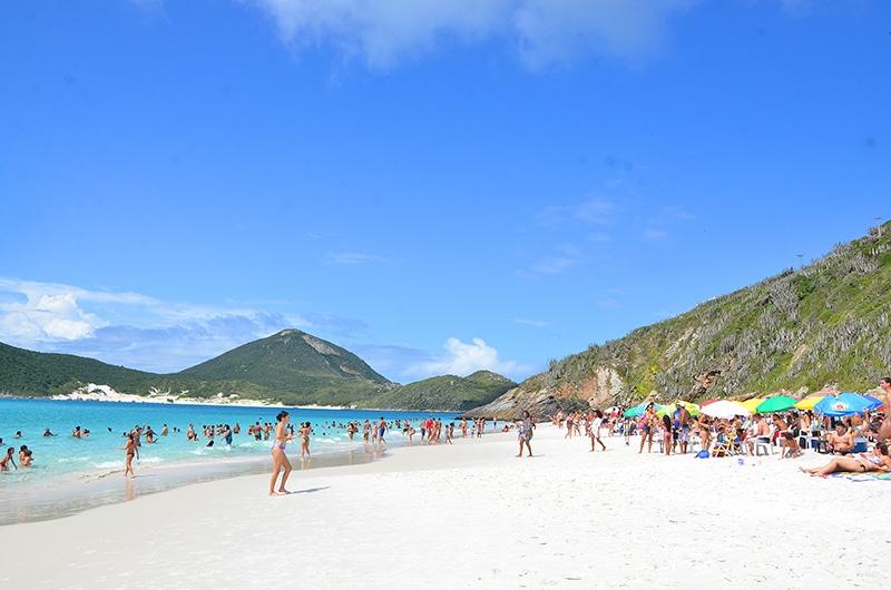 Atrações turísticas no Arraial do Cabo