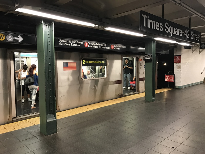 Mapa do metrô de Nova York