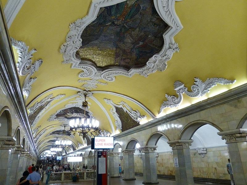 Melhor opção para fugir do trânsito de Moscou