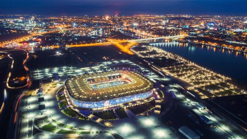 Estádio do primeiro jogo da seleção brasileira na Copa 2018