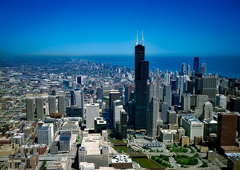 Observatório em Chicago