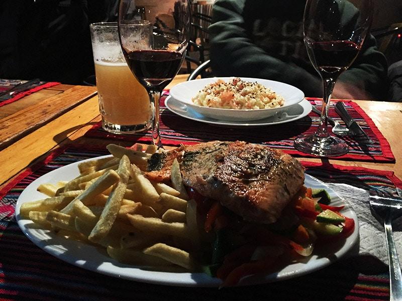 Bons restaurantes no Atacama