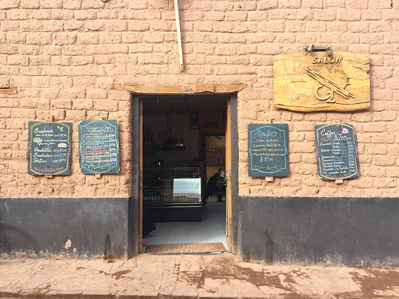 Café da manhã no Deserto do Atacama