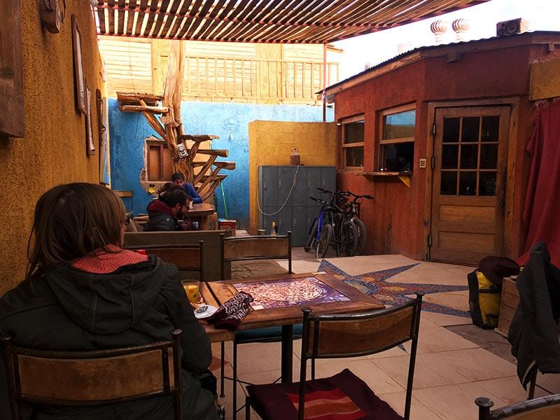 Café da manhã em San Pedro de Atacama