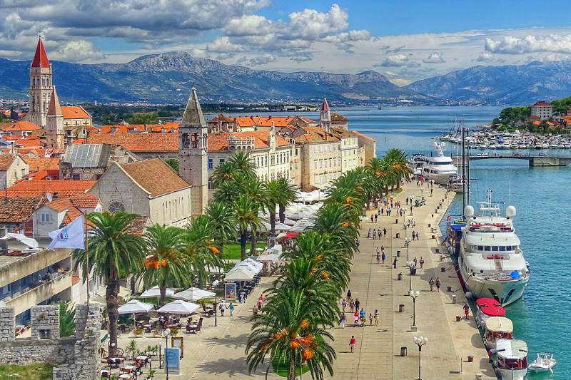 Roteiro pela Croácia, Europa Oriental