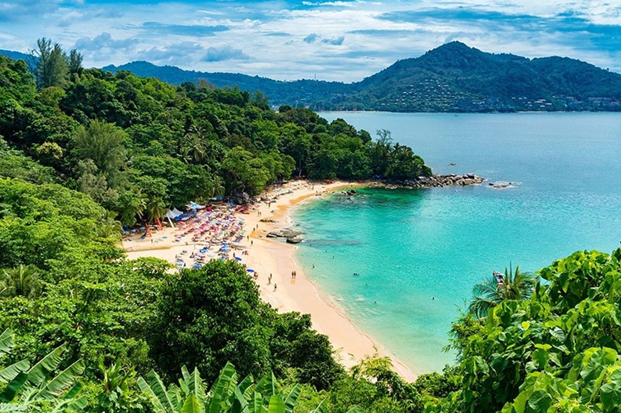Praias mais bonitas do sul da Tailândia