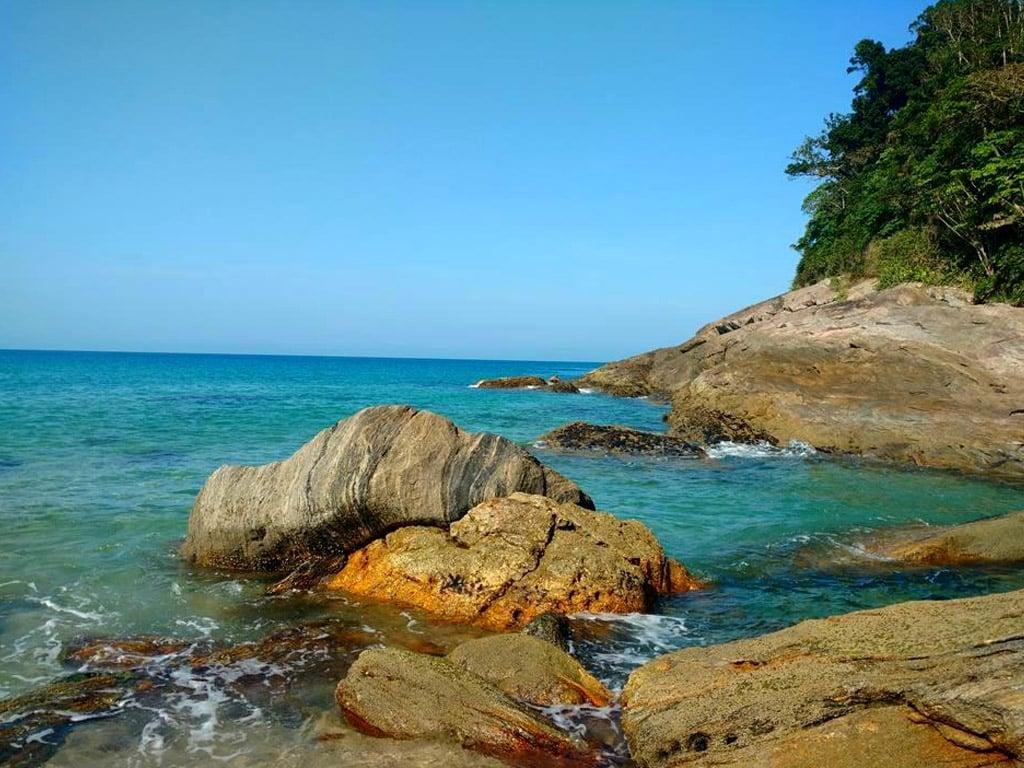 Lugares para viajar a dois em SP praia
