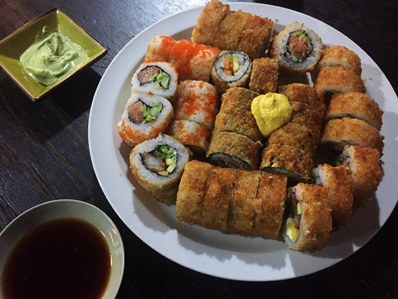 Restaurante japonês no Atacama