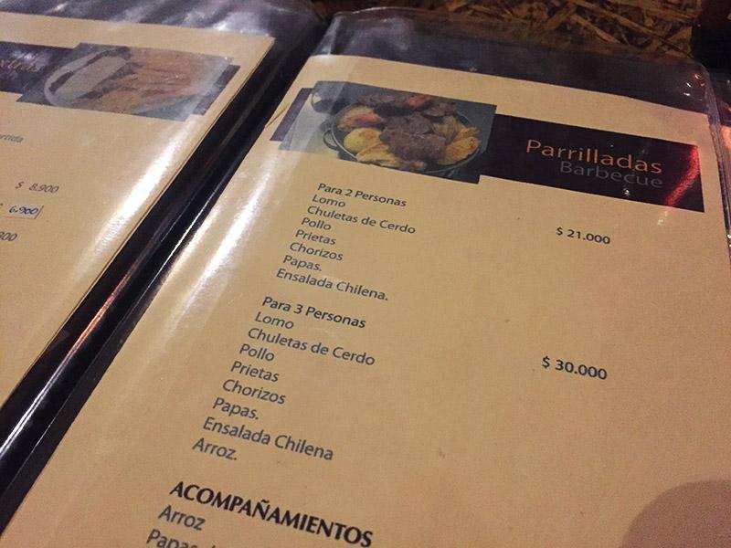Restaurantes do Atacama
