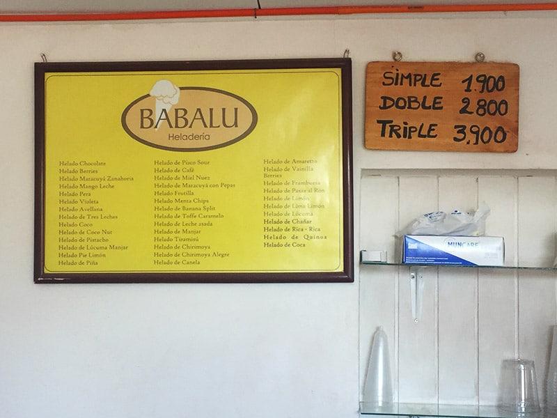 Onde tomar sorvete no Atacama