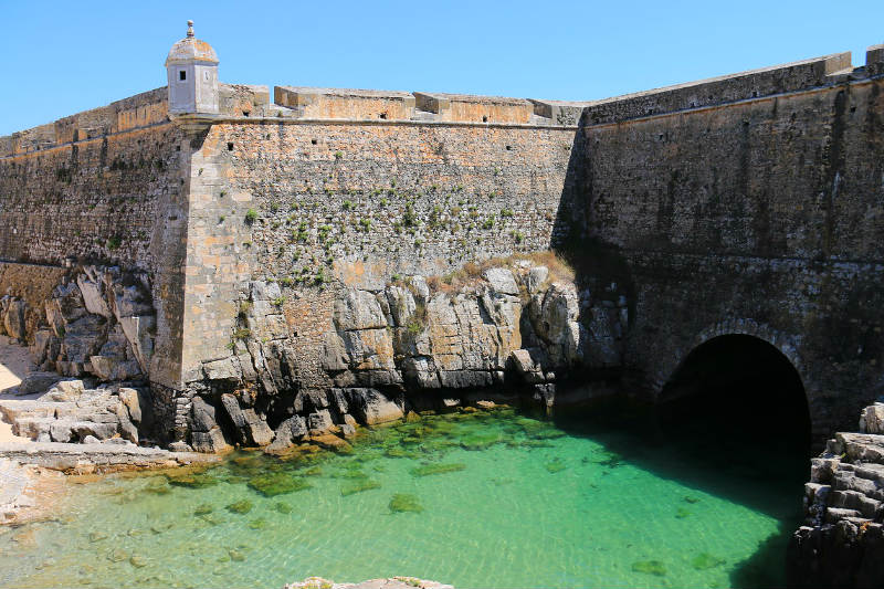 Fortaleza de Peniche em Portugal