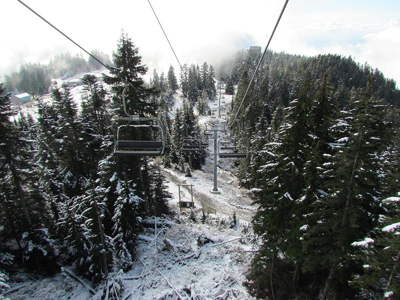 Onde ver neve em Vancouver