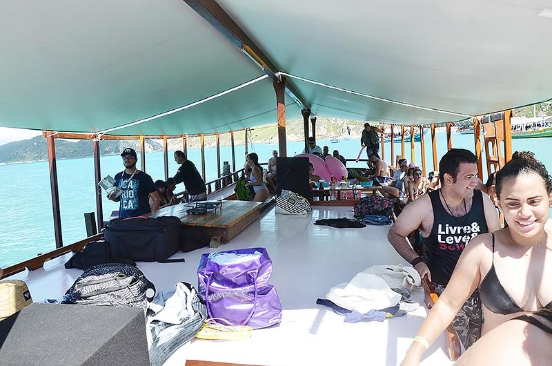 Preço do passeio de barco em Arraial do Cabo