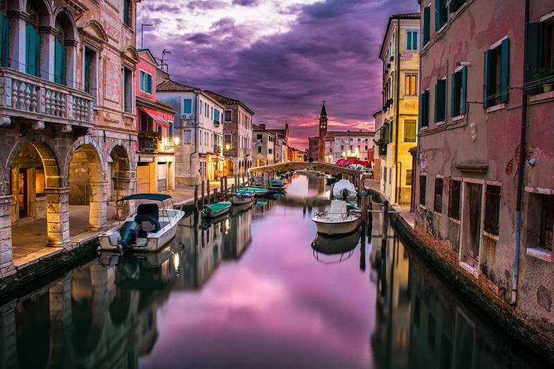 Cidades mais visitadas da Itália