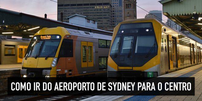Como chegar no aeroporto de Sydney