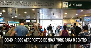 Transporte no aeroporto JFK
