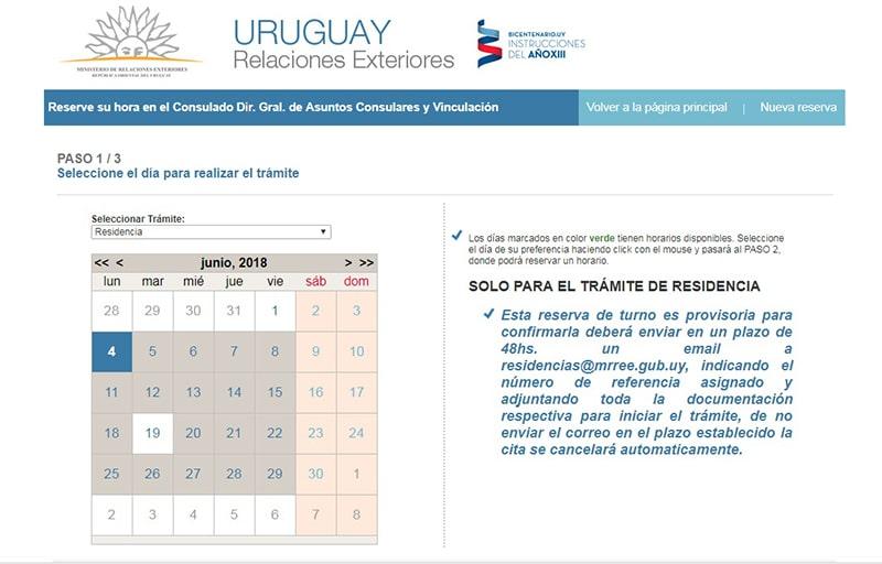Documentos para conseguir visto do Urugual